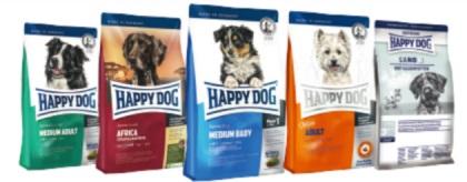 HAPPY DOGの種類