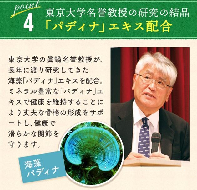 東京大学名誉教授の研究の結晶「パディナエキス」で健康な関節をサポート